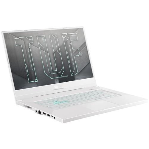 """ASUS TUF Dash F15 FX516PM-HN072T Intel i7-11370H 15.6"""" FHD IPS 144Hz matný RTX3060-6GB 16GB 512GB SSD WL BT W10 CS; biely"""