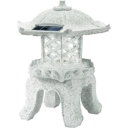 LED solárne dekoratívne osvetlenie FIAP Yukimi 2750, šedá, studená biela 520684