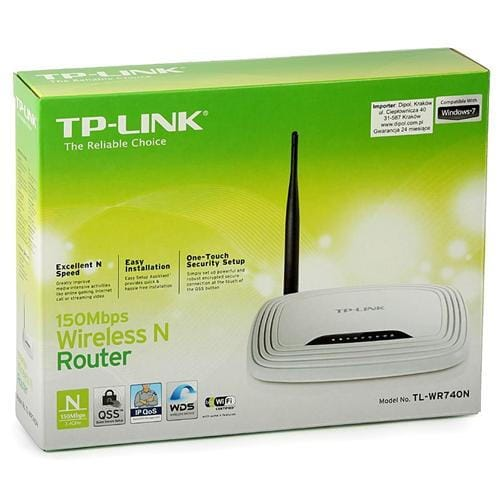 TP-Link TL-WR740N wifi 150Mbps Wireless LAN Router