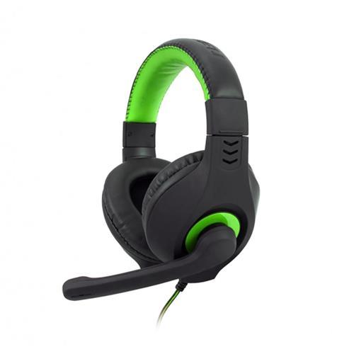 Headset C-TECH Nemesis V2 (GHS-14G), čierno-zelená