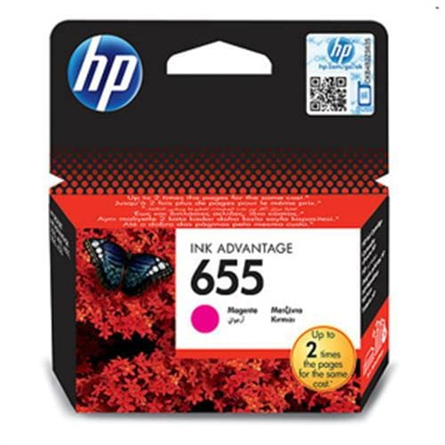 Kazeta HP CZ111AE No.655 Purpurová atramentová náplň