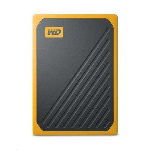 Ext. SSD WD My Passport GO 1TB, USB 3.0, žltý WDBMCG0010BYT-WESN