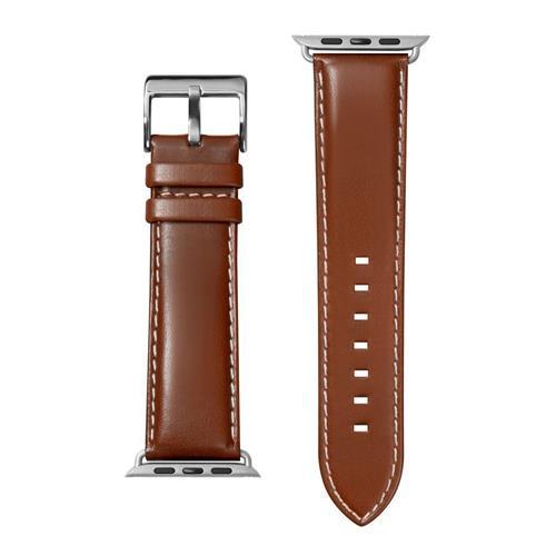 LAUT Oxford – kožený remienok na Apple Watch 42/44 mm, hnedý LAUT-AWL-OX-BR