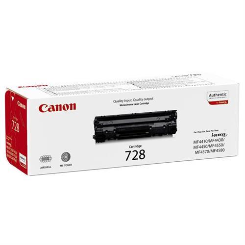 Toner CANON CRG-728 black MF 4410/4430/4450/4550D/4570DN/4580DN 3500B002