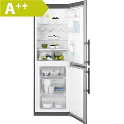ELECTROLUX Kombinovaná chladnička EN3201MOX nerez