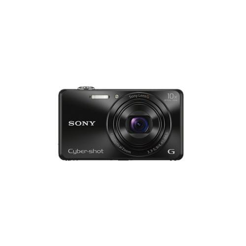 """Fotoaparát SONY DSC-WX220, 18,2Mpx, f/3.3-5.9, 10x zoom, 2.7""""LCD, čierny DSCWX220B.CE3"""