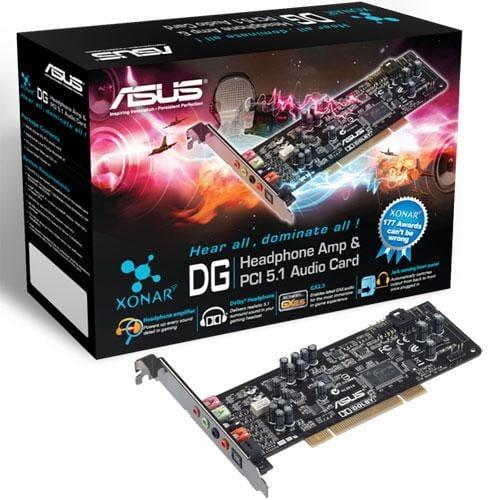 Zvuková karta Asus Xonar DG PCI Retail 90-YAA0K0-0UAN0BZ
