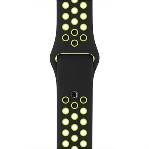 Apple 42mm Black/Volt Nike Sport Band - S/M & M/L mq2q2zm/a