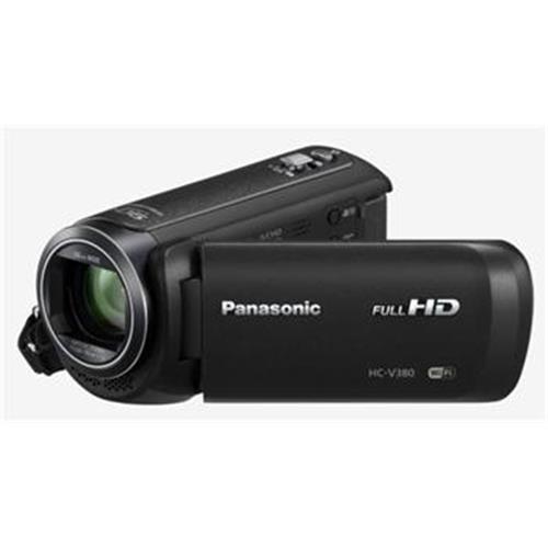 "Kamera Panasonic HC-V380 (Full HD kamera, 1MOS, 50x zoom od 28mm, 3"" LCD, Wi-Fi) HC-V380EP-K"