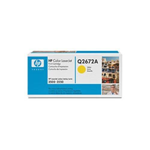 Toner HP Q2672A Smart 3500 Yellow 4,000strán