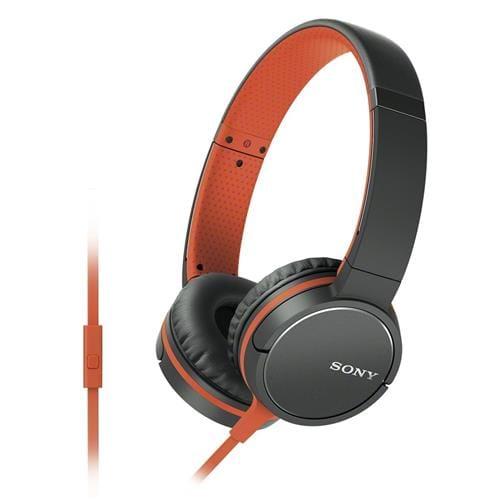 Slúchadlá Sony MDR-ZX660AP, handsfree, oranžové MDRZX660APD.CE7