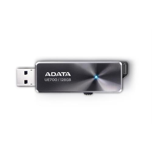 USB Kľúč 128GB ADATA UE700, čierny (USB 3.0) AUE700-128G-CBK