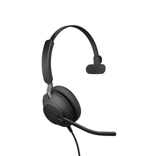 Jabra Evolve2 40, USB-C, UC Mono 24089-889-899