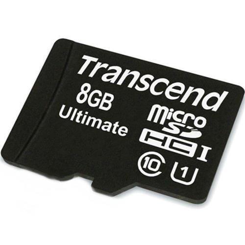 Transcend 8GB microSDHC Class10 UHS-I Card ,600x TS8GUSDHC10U1