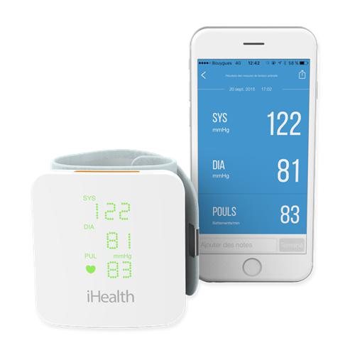 iHealth VIEW BP7s Smart Wrist Blood Pressure Monitor IH-BP7s
