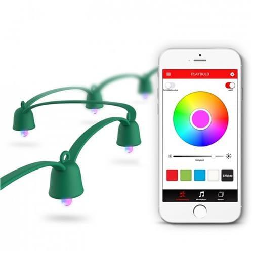 MiPow Playbulb String smart LED reťaz 10 m MP-BTL505-GN