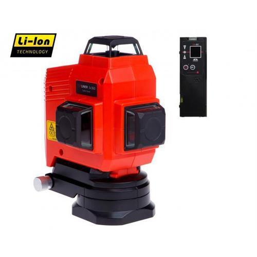 Krížový laser ADA TOPLINER 3 x 360 + statív PKOD-7045