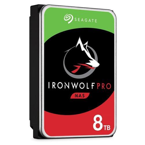 HDD 8TB Seagate IronWolf Pro 256MB SATAIII NAS 5RZ ST8000NE001