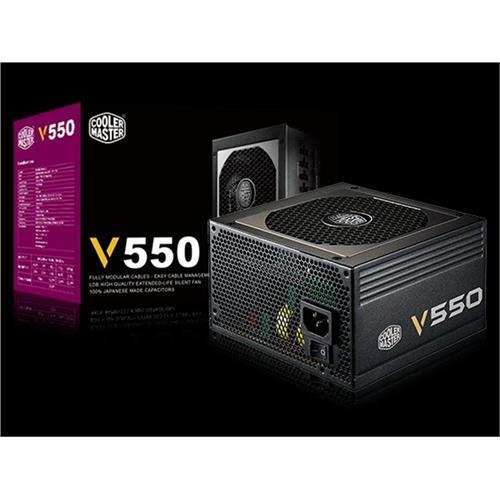 Zdroj Cooler Master Vanquard series 550W aPFC v2.31, 12cm fan, 80+ Gold, modular RS550-AFBAG1-EU