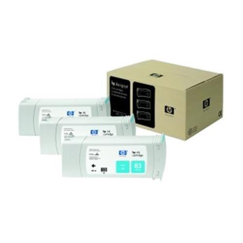 Kazeta HP HPC5073A Multipack No. 83 UV 3-Ink, cyan pro DeskJet 5000xx