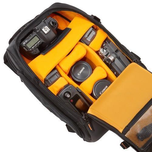 Puzdro CASELOGIC CL-SLRC206/ Profesionálny batoh pre SLR fotoaparát, objektívy a notebook/ Nylon/ Čierny