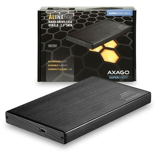 AXAGO USB3.0 - SATA 2.5'' externý ALINE box EE25-XA3