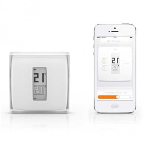 Netatmo Thermostat Wi-Fi termostat pre iOS/Android zariadenia NTH01-EN-EC