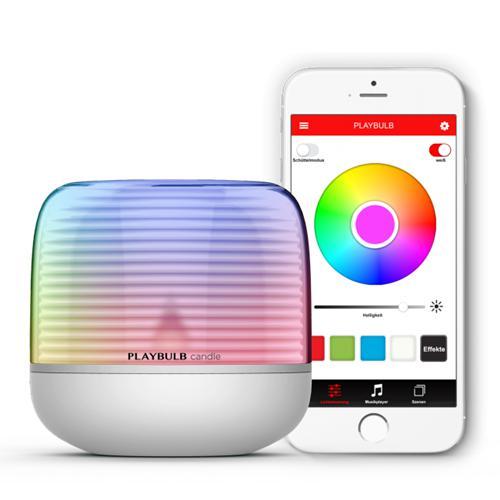 MiPow Playbulb Candle S smart LED sviečka s integrovanou batériou MP-BTL305-S