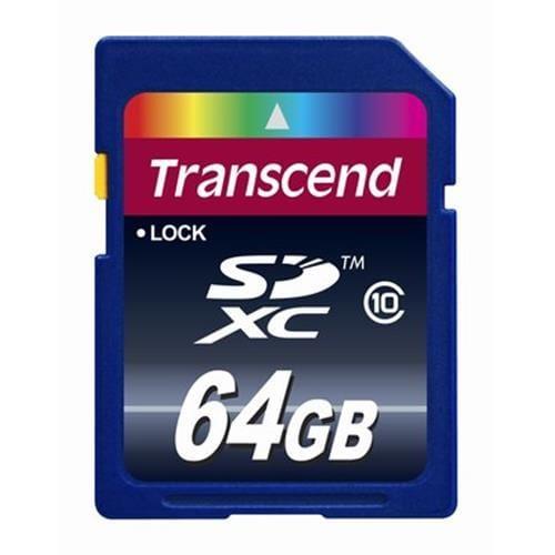 Transcend 64GB SDXC (Class 10) pamäťová karta TS64GSDXC10