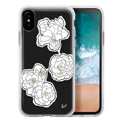 LAUT Pop case pre iPhone X - Mono Blooms LAUT-iP8-POP-MB