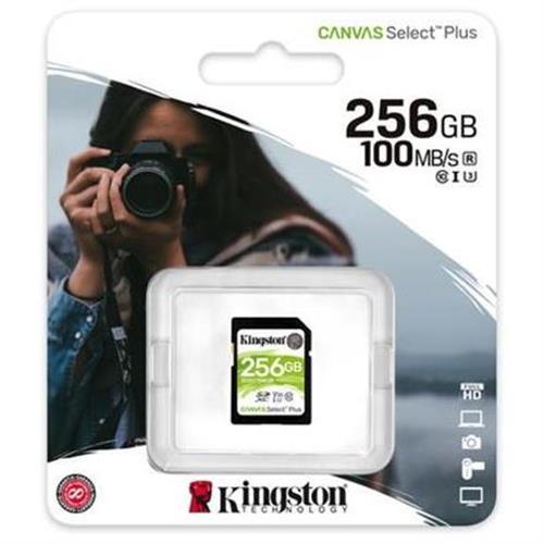 256GB SDXC Kingston Canvas Select Plus U3 V30 CL10 100MB/s SDS2/256GB