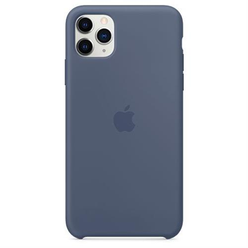 Apple iPhone 11 Pro Max Silicone Case - Alaskan Blue MX032ZM/A