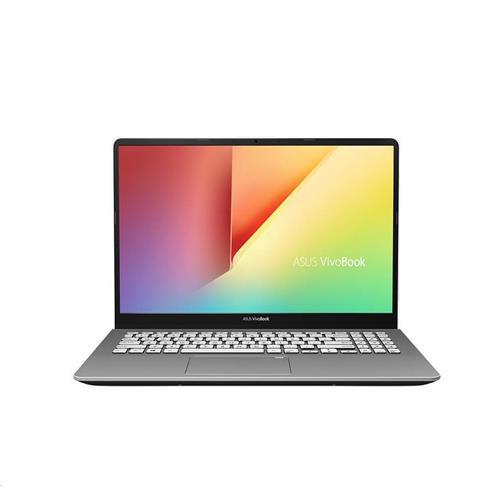 """ASUS VivoBook S530FN-BQ074T Intel i5-8265U 15.6"""" FHD matny MX150-2GB 8GB 256GB SSD WL Cam FPR Win10 CS šedý"""