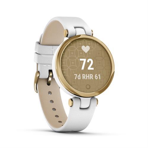 Garmin Lily Classic, Gold/White, Italian Leather 010-02384-B3
