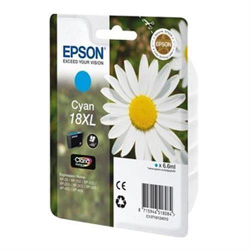 Kazeta EPSON T1812 18XL Cyan C13T181240