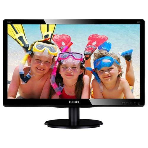 Monitor Philips 200V4QSBR, 19,5'', LED, FHD, MVA, DVI 200V4QSBR/00