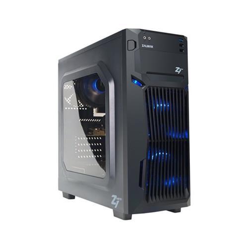 Skrinka Zalman miditower Z1 NEO, mATX/ATX, bez zdroja, USB3.0, čierna