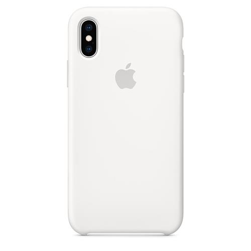 iPhone XS Silicone Case - White MRW82ZM/A