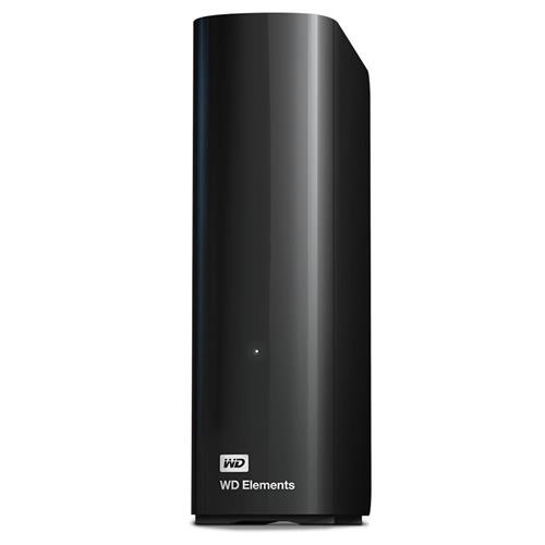 Ext. HDD WD Elements Desktop 10TB, 3,5'', USB WDBWLG0100HBK-EESN