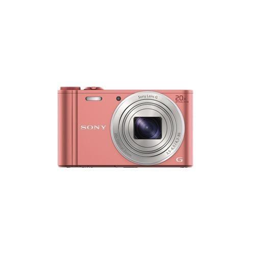 """Fotoaparát SONY DSC-WX350, 18,2Mpx, f/3.5-6.5, 20x zoom, 3.0""""LCD, ružový DSCWX350P.CE3"""