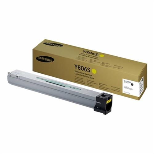 SAMSUNG CLT Y806S Yellow Toner Cartridge SS728A