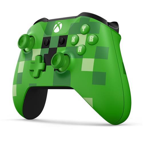 XBOX ONE - Bezdrôtový ovládač Xbox One S Minecraft Creeper [Modesto] WL3-00057