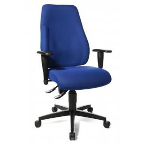 Kancelárska stolička LADY SITNESS modrá TS200006