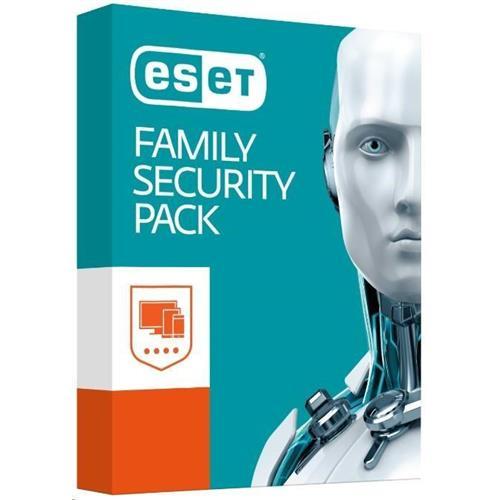 ESET Family Security Pack: Krabicová licencia pre 4 zariadenia na 18 mesiacov 8588005558815