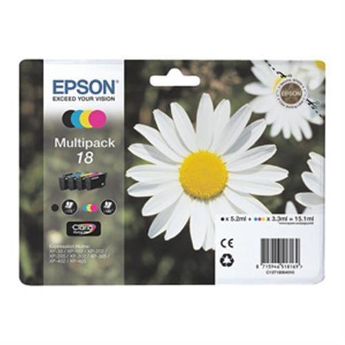 Kazeta EPSON Multipack 18XL CMYK C13T181640