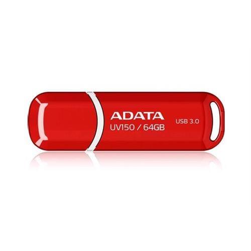 USB Kľúč 64GB ADATA UV150, červený (USB 3.0) AUV150-64G-RRD
