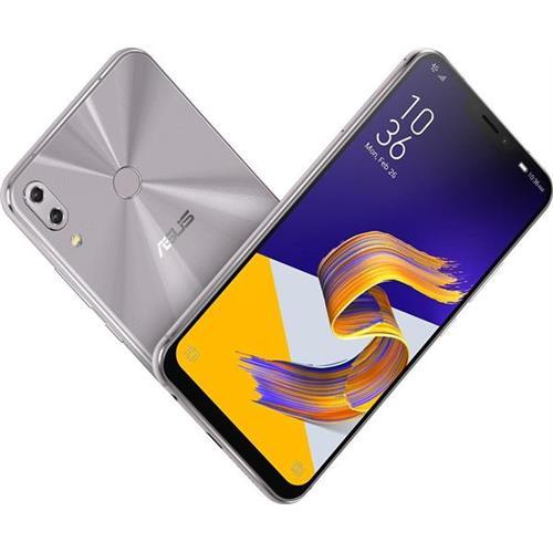 "ASUS ZenFone 5 ZE620KL 6,2"" FHD+ OctaCore (1,80GHz) 4GB 64GB Cam8/12+8Mp 3300mAh Dual SIM LTE NFC Android 8.0 strieborný ZE620KL-1H010EU"