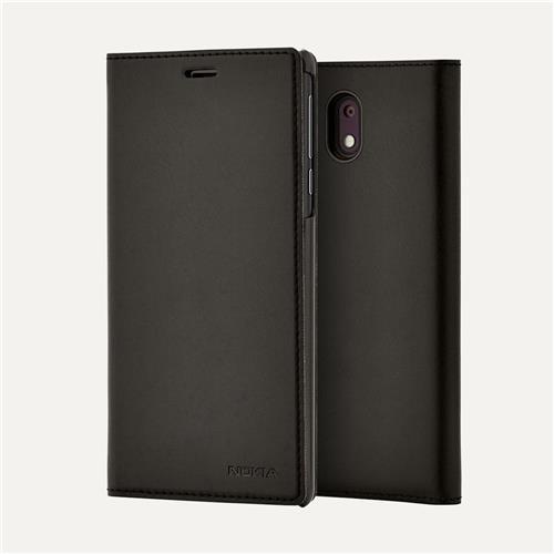 Nokia CC-303 Slim Flip Cover pre Nokia 3, Black 6438409002624