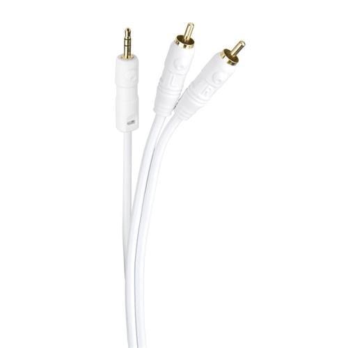 Audio Kábel CA 100 jack-jack stereo prepojovací kábel 1m C10087
