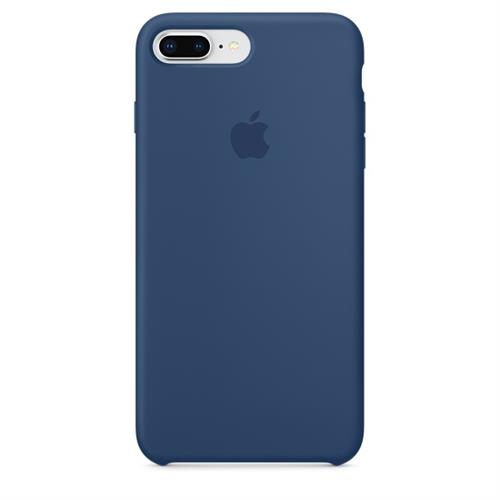 Apple iPhone 8 Plus / 7 Plus Silicone Case - Blue Cobalt MQH02ZM/A